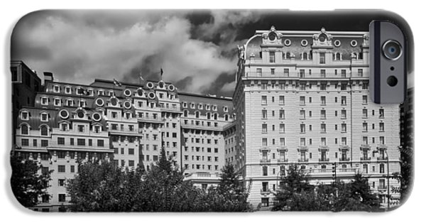 D.c. iPhone Cases - The Historic Willard Hotel - Washington DC iPhone Case by Mountain Dreams