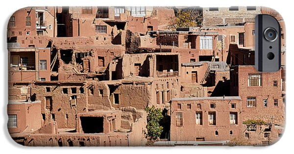 East Village iPhone Cases - The village of Abyaneh in Iran iPhone Case by Robert Preston