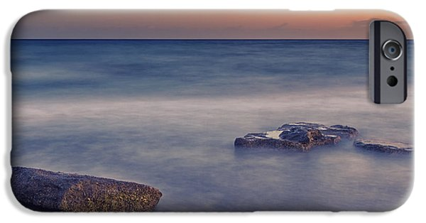 Beach Landscape iPhone Cases - Time iPhone Case by Stylianos Kleanthous