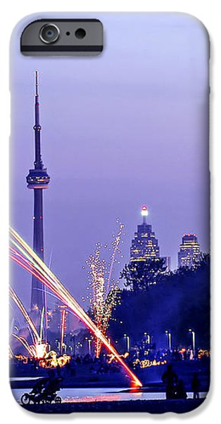 Toronto fireworks iPhone Case by Elena Elisseeva