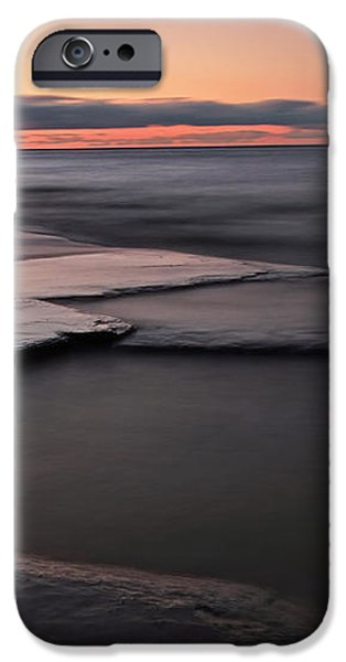 Tranquil Beach iPhone Case by Charline Xia