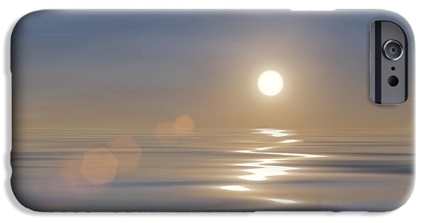 Interior Scene iPhone Cases - Tranquillity iPhone Case by Wim Lanclus