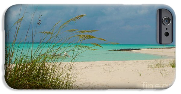 Original Photography iPhone Cases - Treasure Cay iPhone Case by Carey Chen
