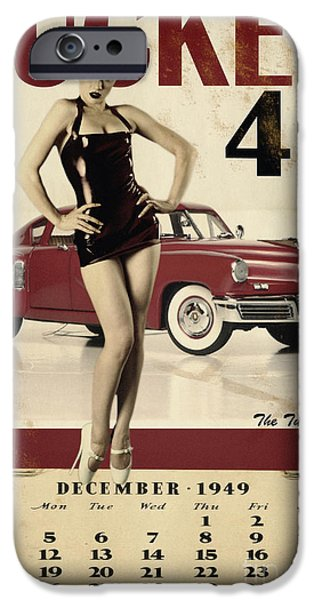 War iPhone Cases - Tucker 48 iPhone Case by Cinema Photography