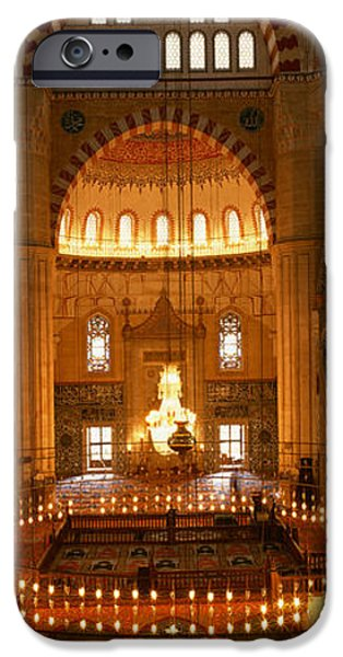 Mosaic iPhone Cases - Turkey, Edirne, Selimiye Mosque iPhone Case by Panoramic Images