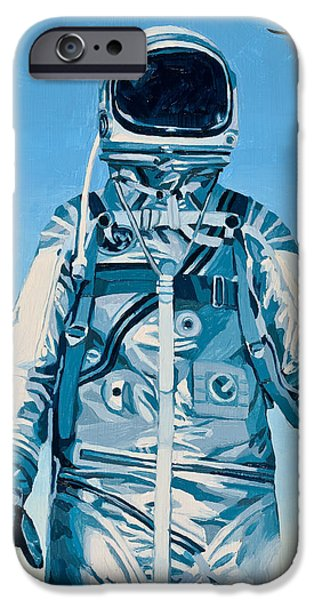 Science Paintings iPhone Cases - Under the Flight Path iPhone Case by Scott Listfield