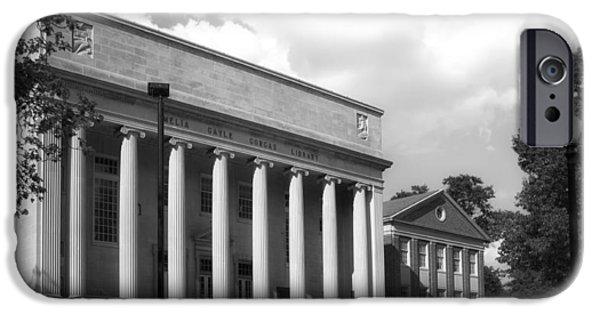 University Of Alabama iPhone Cases - University of Alabama Library iPhone Case by Mountain Dreams