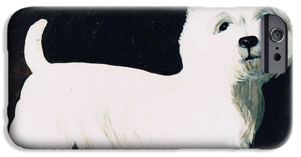 Terrier iPhone Cases - Untitled iPhone Case by Maggie Rowe