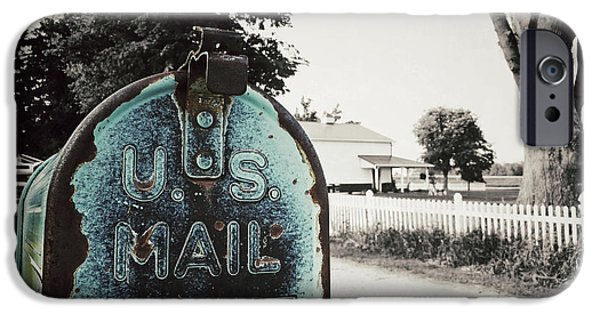 Us Postal Service iPhone Cases - U.S. Mail iPhone Case by Natasha Marco
