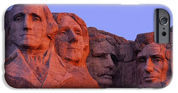 President iPhone Cases - Usa, South Dakota, Mount Rushmore iPhone Case by Panoramic Images