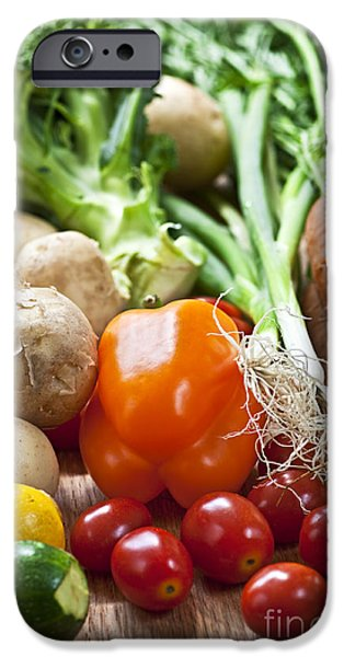 Root iPhone Cases - Vegetables iPhone Case by Elena Elisseeva