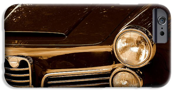 Old Cars iPhone Cases - Vintage Car iPhone Case by Dan Radi
