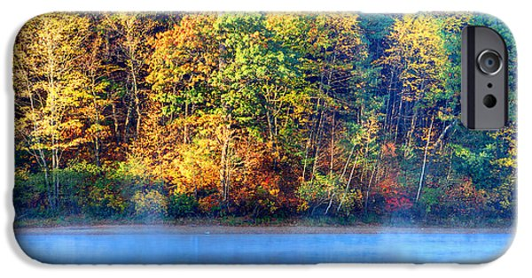 Walden Pond iPhone Cases - Walden Pond iPhone Case by Denis Tangney Jr