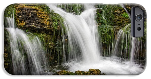 Fall iPhone Cases - Waterfall iPhone Case by Carlos Caetano