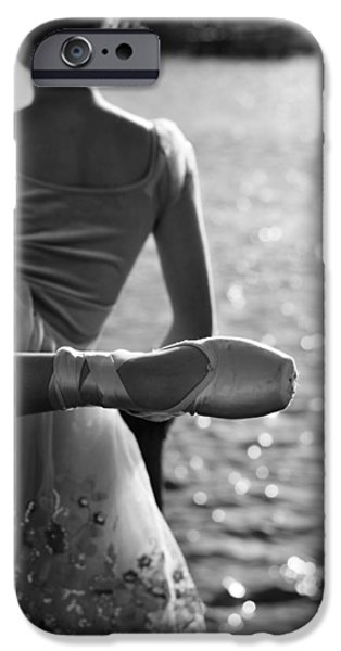 Ballet Dancers iPhone Cases - We Are Such Stuff As Dreams Are Made On iPhone Case by Laura  Fasulo