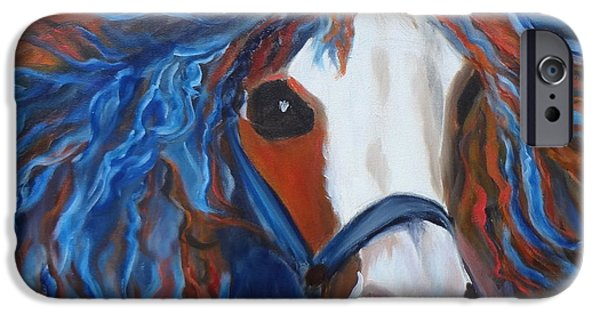 Horse iPhone Cases - Welsh Pony iPhone Case by Jenny Lee