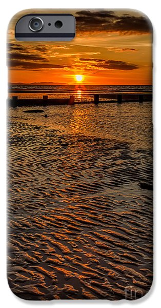 Welsh Sunset iPhone Case by Adrian Evans