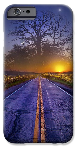 Fantasy Tree iPhone Cases - What Dreams May Come iPhone Case by Phil Koch