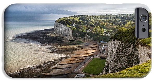 Margaret iPhone Cases - White Cliffs of Dover  iPhone Case by Ian Hufton