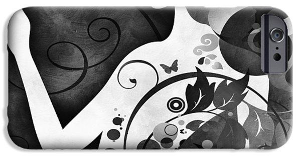 Wonderous iPhone Cases - Wonder BW iPhone Case by Angelina Vick