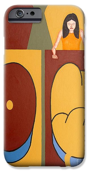 2 WORLDS iPhone Case by Patrick J Murphy