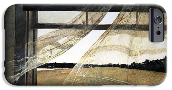 Cora Wandel iPhone Cases - Wyeths Wind From The Sea iPhone Case by Cora Wandel