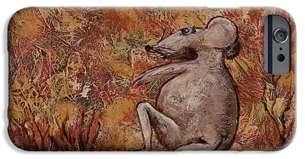 Signs Of The Zodiac Paintings iPhone Cases - Year Of The Rat iPhone Case by Darice Machel McGuire