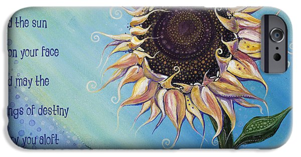 Destiny iPhone Cases - You Are My Sunshine iPhone Case by Tanielle Childers