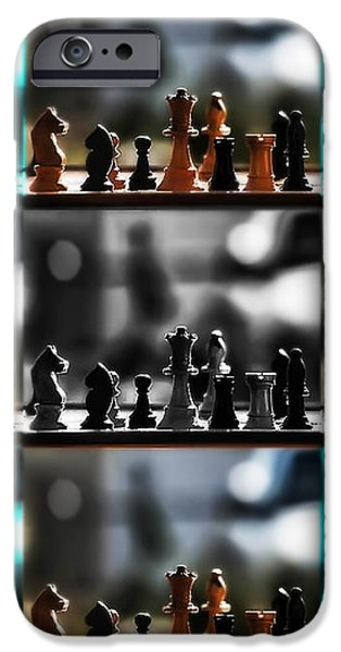 Your Move iPhone Case by Camille Lopez