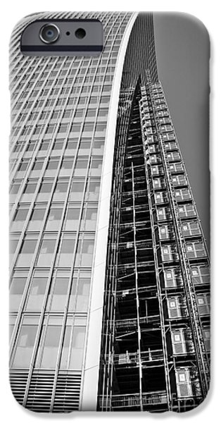 United iPhone Cases - 20 Fenchurch Street iPhone Case by Lana Enderle
