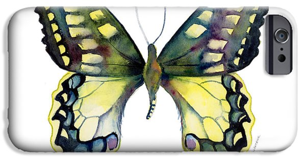 Moth iPhone Cases - 20 Old World Swallowtail Butterfly iPhone Case by Amy Kirkpatrick