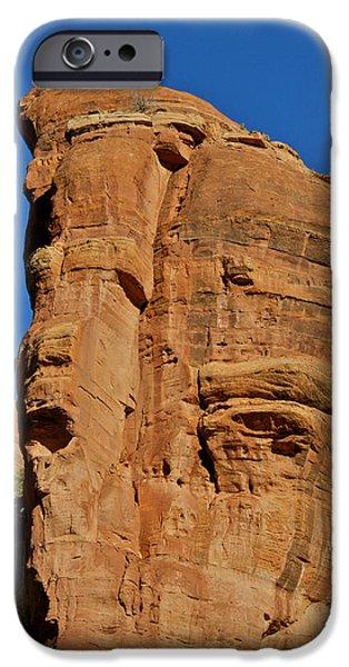 Sedona iPhone Cases - Sedona Promontory iPhone Case by Steven Lapkin