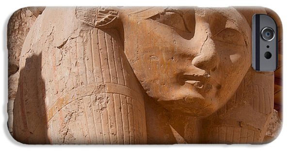 Hathor Digital iPhone Cases - Valley of the Kings iPhone Case by Carol Ailles