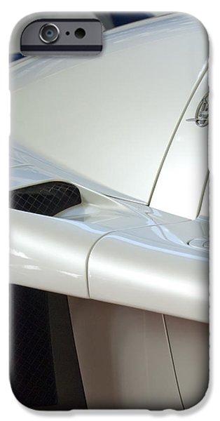2005 iPhone Cases - 2005 Maserati MC12 Emblem iPhone Case by Jill Reger
