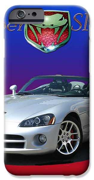 2006 VIPER S R 10 iPhone Case by Jack Pumphrey