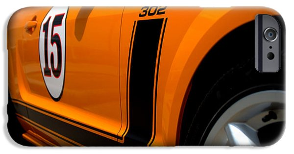 2007 iPhone Cases - 2007 Ford Mustang Saleen Boss 302 iPhone Case by Brian Harig