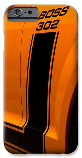 2007 Ford Mustang Saleen Boss 302 iPhone Case by Brian Harig