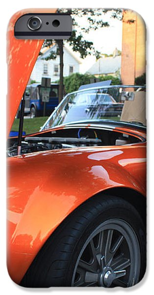 2009 Cobra Front and Side View iPhone Case by JOHN TELFER