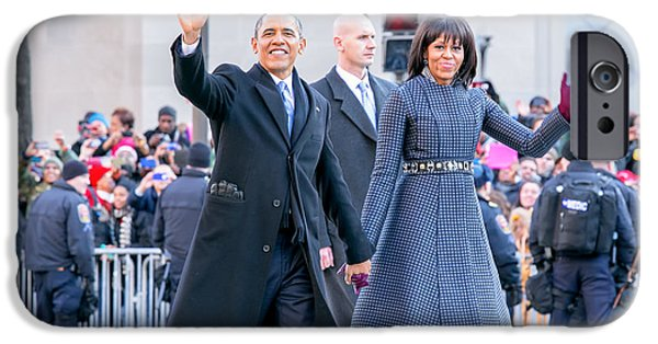 Best Sellers -  - First Lady iPhone Cases - 2013 Inaugural Parade iPhone Case by Ava Reaves