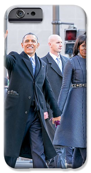 2013 Inaugural Parade iPhone Case by Ava Reaves