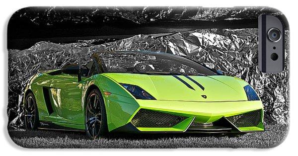 Automotive iPhone Cases - 2013 Lamborghini Performonte II iPhone Case by Dave Koontz