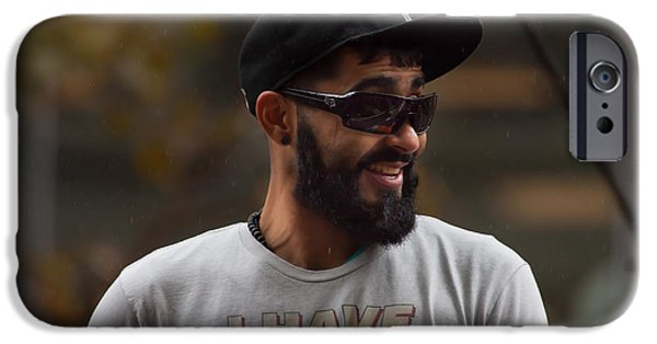 Romo iPhone Cases - 2014 World Series Champions San Francisco Giants Dynasty Parade Sergio Romo 5D29739 iPhone Case by Wingsdomain Art and Photography