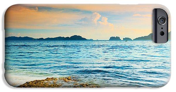 Alga iPhone Cases - Seascape iPhone Case by MotHaiBaPhoto Prints