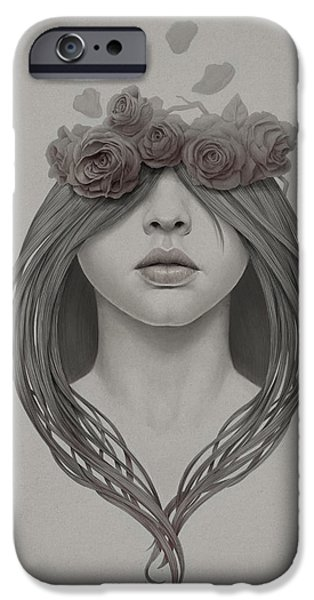 Petals iPhone Cases - 214 iPhone Case by Diego Fernandez