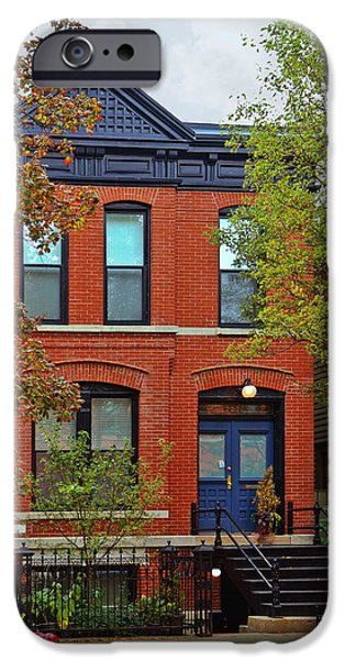 22 W Eugenie St Old Town Chicago iPhone Case by Christine Till