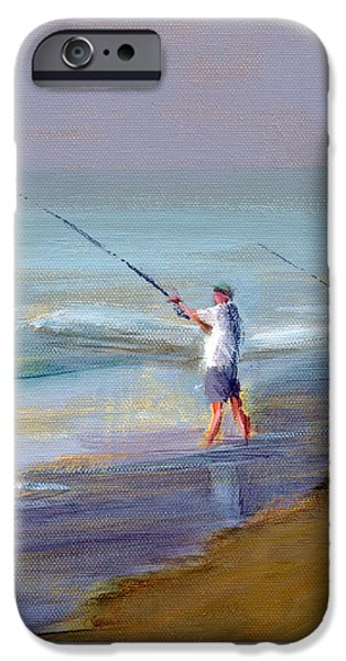 Seascape iPhone Cases - RCNpaintings.com iPhone Case by Chris N Rohrbach