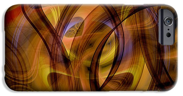 Concept Art iPhone Cases - Abstract  iPhone Case by Modern Art Prints