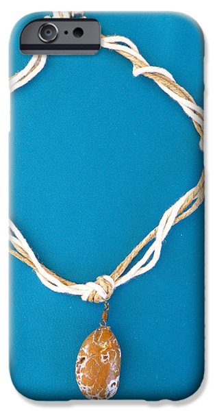 Aphrodite Urania Necklace iPhone Case by Augusta Stylianou