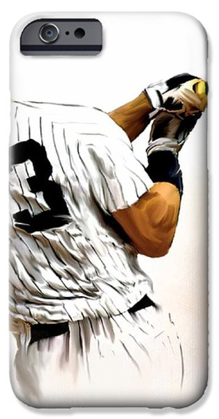 23   Don Mattingly iPhone Case by Iconic Images Art Gallery David Pucciarelli