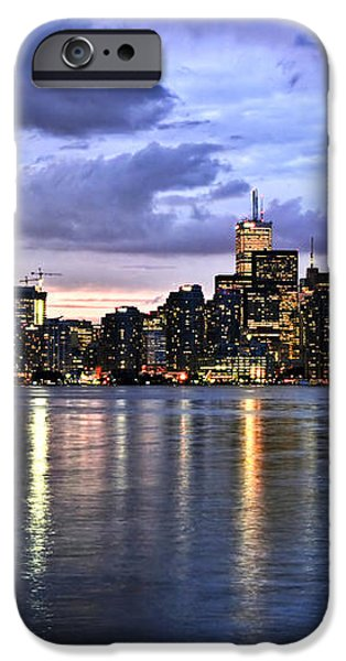Toronto skyline iPhone Case by Elena Elisseeva